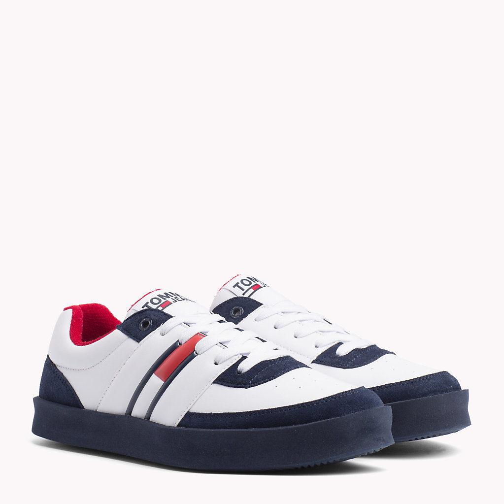 Tommy Hilfiger - Lightweight Colour-Blocked Trainers - 1