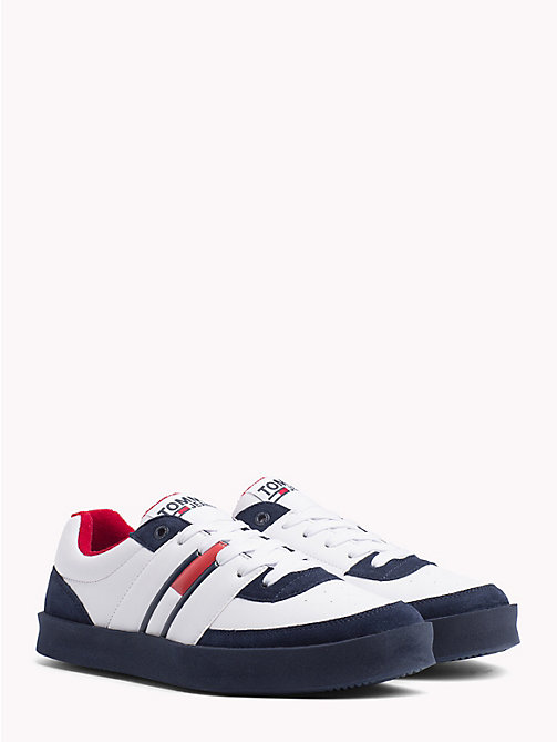 TOMMY JEANS Lightweight Colour-Blocked Trainers - BLACK IRIS - TOMMY JEANS Shoes & Accessories - main image