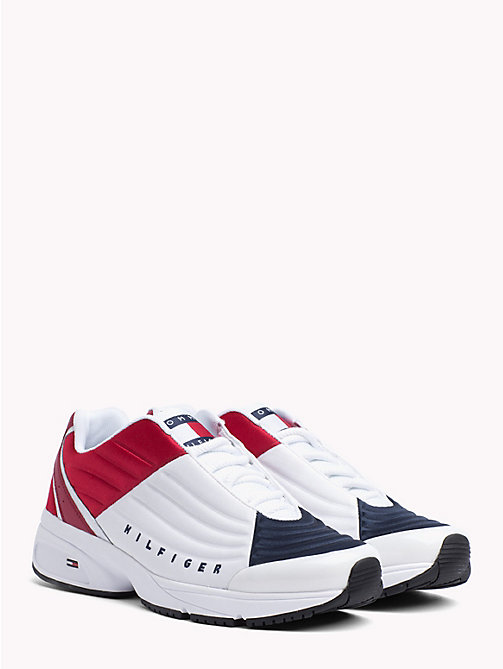 TOMMY JEANS 6.0 Crest Low Rise Trainers - RWB - TOMMY JEANS TOMMY JEANS Capsule - main image