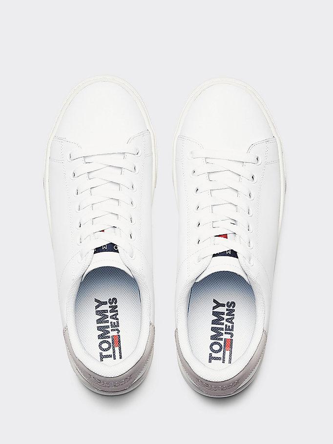7b43b64389f Essential sneakers van leer | Tommy Hilfiger
