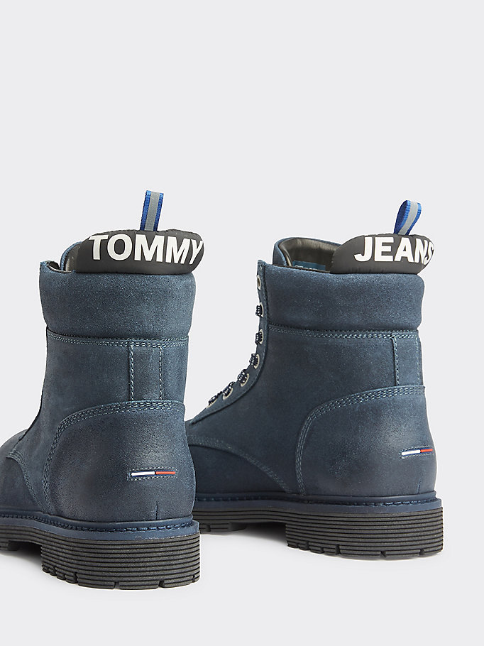 sleek great fit online here Classic Outdoor Suede Boots | GREY | Tommy Hilfiger