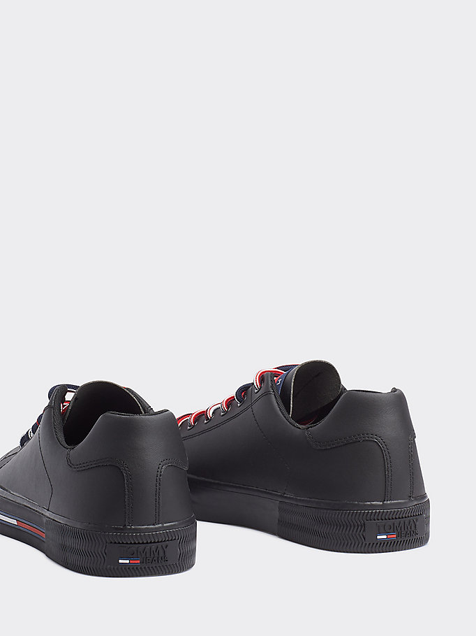 Essential Leather Lace Up Boots   Tommy Hilfiger