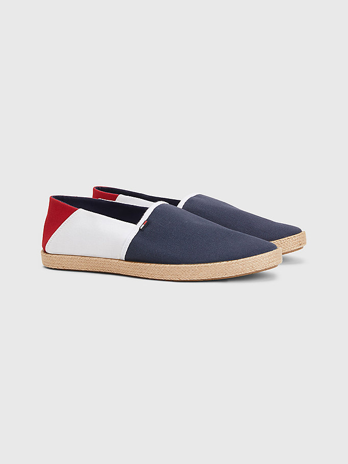blue essential espadrilles for men tommy jeans