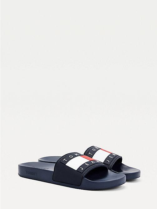 Hilfiger Denim Herren Tommy Jeans Moulded Beach Sandal Zehentrenner