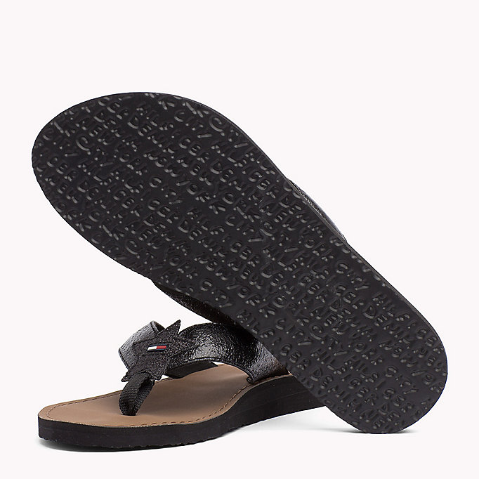 TOMMY JEANS Metallic Beach Sandals - MIDNIGHT - TOMMY JEANS SHOES - detail image 1