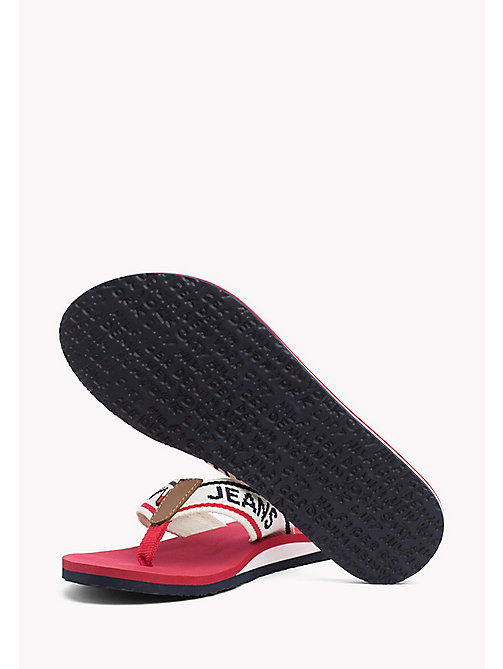 Tommy Jeans Flip-Flops - TANGO RED - TOMMY JEANS SHOES - detail image 1