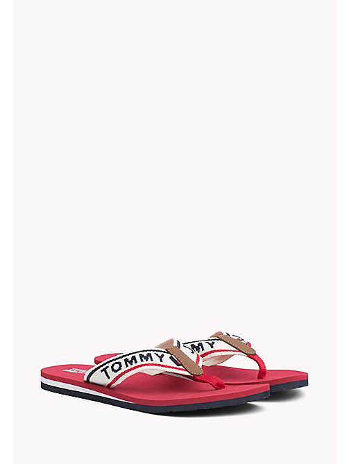 Tommy Jeans Flip-Flops - TANGO RED - TOMMY JEANS SHOES - main image