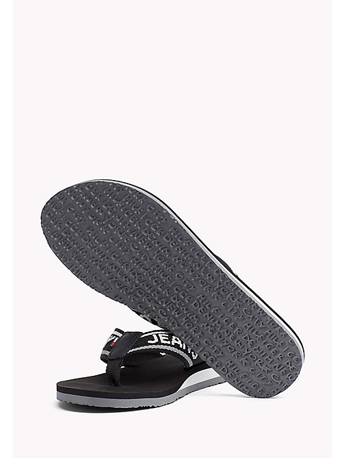 TOMMY JEANS Tommy Jeans Flip-Flops - BLACK - TOMMY JEANS Tommy Jeans Shoes - detail image 1