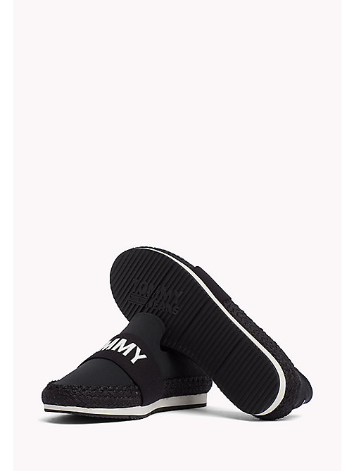 TOMMY JEANS Slip-On Tommy Jeans Trainers - BLACK - TOMMY JEANS VACATION FOR HER - detail image 1