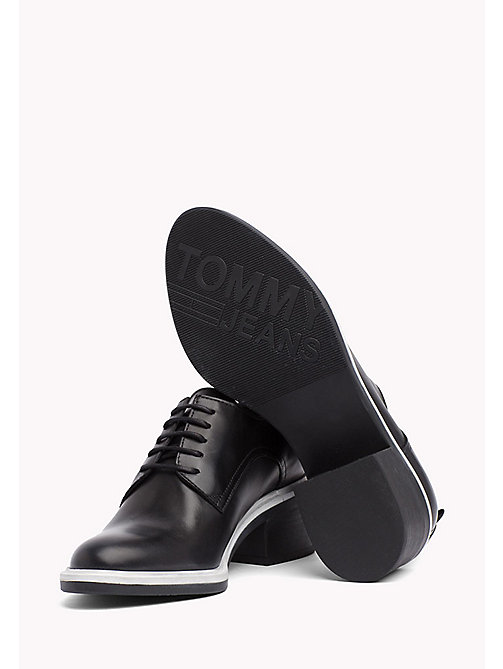 TOMMY JEANS Lace-Up Shoes - BLACK - TOMMY JEANS WOMEN - detail image 1