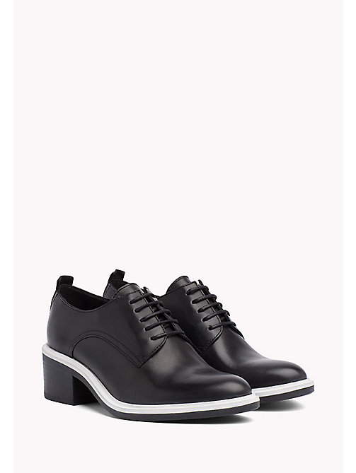 TOMMY JEANS Lace-Up Shoes - BLACK - TOMMY JEANS FEMMES - image principale