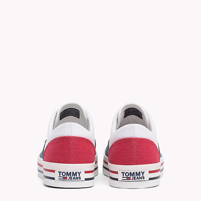 TOMMY JEANS Baskets colour-block - WHITE - TOMMY JEANS CHAUSSURES - image détaillée 2