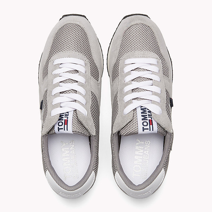 TOMMY JEANS Metallic Mesh Star Trainers - RWB - TOMMY JEANS Damen - main image 3