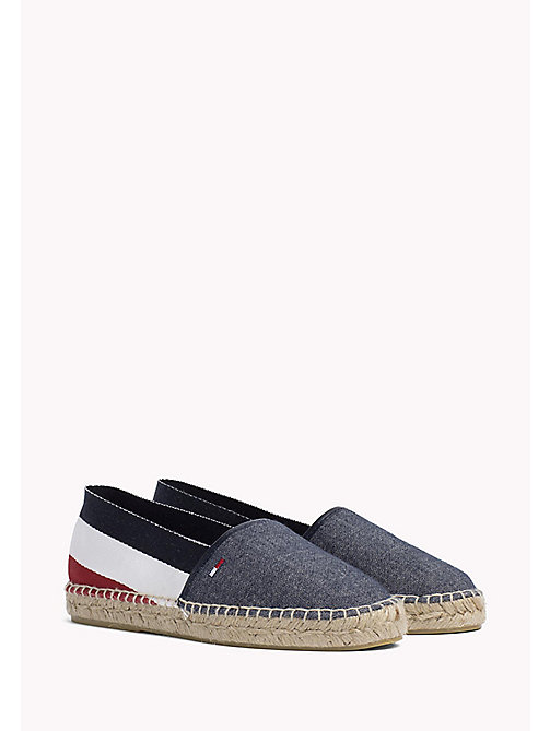 TOMMY JEANS Flat Signature Espadrilles - RWB - TOMMY JEANS VACATION FOR HER - main image