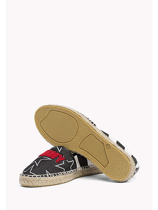 TOMMY JEANS Tommy Jeans Espadrilles - BLACK - TOMMY JEANS VACATION FOR HER - detail image 1