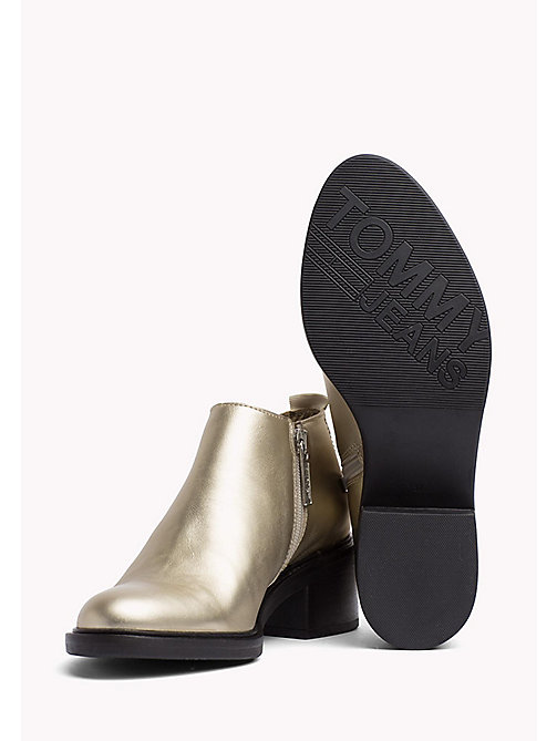 TOMMY JEANS Metallic Chelsea Boots - LIGHT GOLD - TOMMY JEANS Shoes - detail image 1