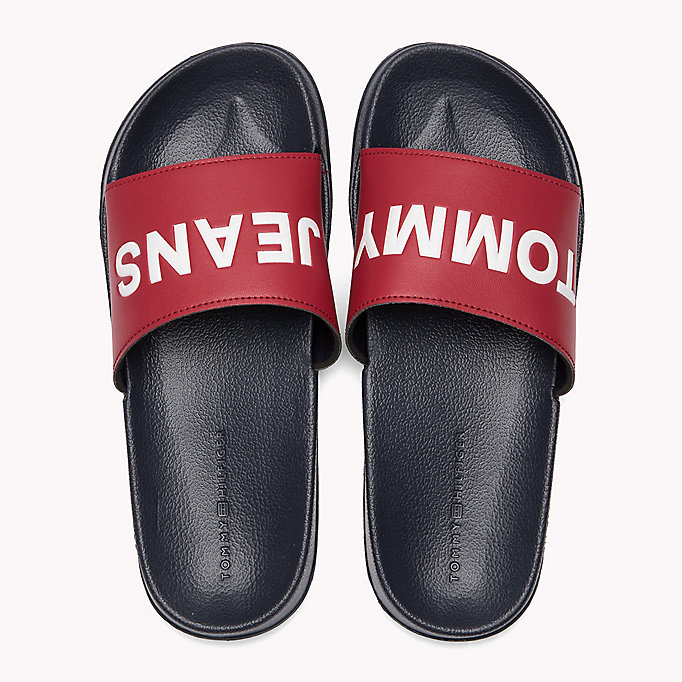 TOMMY JEANS Pool Sliders - BLACK - TOMMY JEANS SHOES - detail image 3
