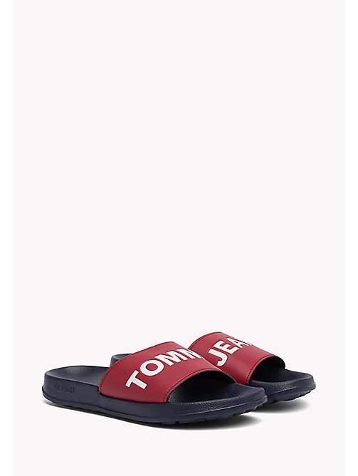TOMMY JEANS Pool Sliders - RWB - TOMMY JEANS VACATION FOR HER - main image