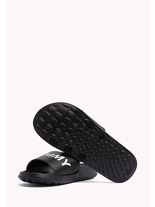 TOMMY JEANS Pool Sliders - BLACK - TOMMY JEANS Tommy Jeans Shoes - detail image 1