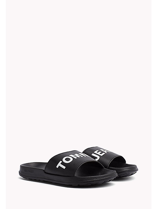 TOMMY JEANS Pool Sliders - BLACK - TOMMY JEANS Tommy Jeans Shoes - main image