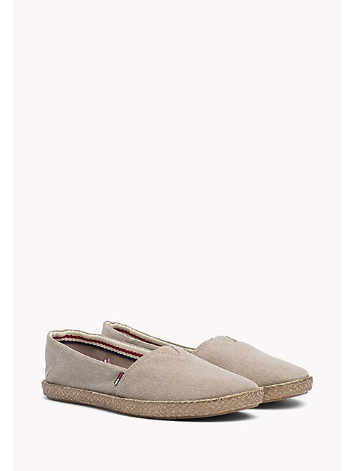 Flexible Casual Slip-Ons - NUDE - TOMMY JEANS SHOES - main image