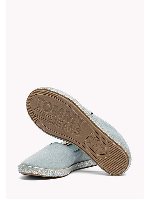 TOMMY JEANS Flexible Casual Slip-Ons - BLUE HAZE - TOMMY JEANS VACATION FOR HER - detail image 1