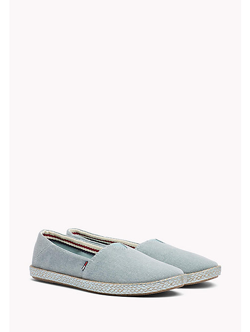 TOMMY JEANS Flexible Casual Slip-Ons - BLUE HAZE - TOMMY JEANS VACATION FOR HER - main image