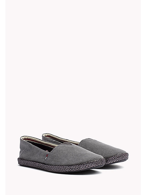 TOMMY JEANS Flexible Casual Slip-Ons - BLACK - TOMMY JEANS Shoes - main image