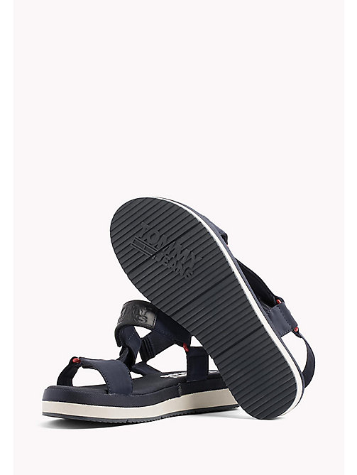 TOMMY JEANS Logo Sandals - MIDNIGHT - TOMMY JEANS VACATION FOR HER - detail image 1