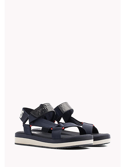 TOMMY JEANS Logo Sandals - MIDNIGHT - TOMMY JEANS VACATION FOR HER - main image