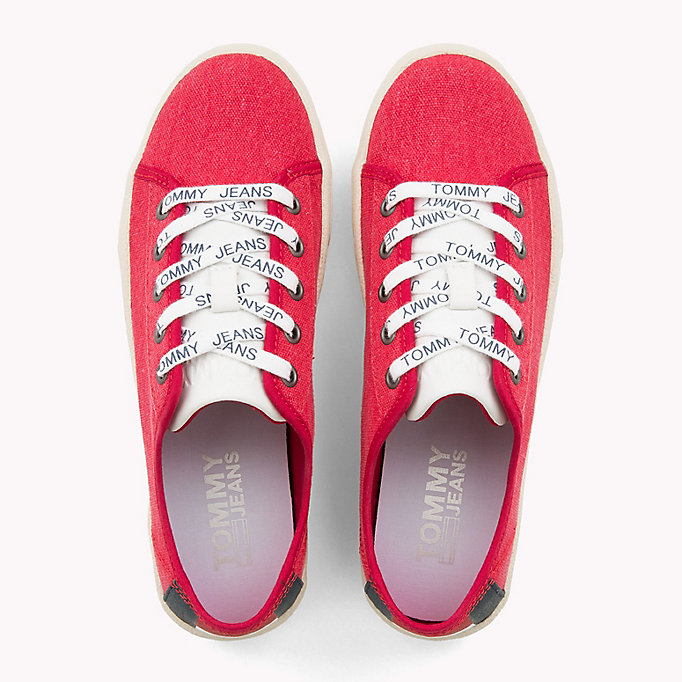 TOMMY JEANS Tommy Jeans Lightweight Logo Lace Trainers - WHITE - TOMMY JEANS Women - detail image 3