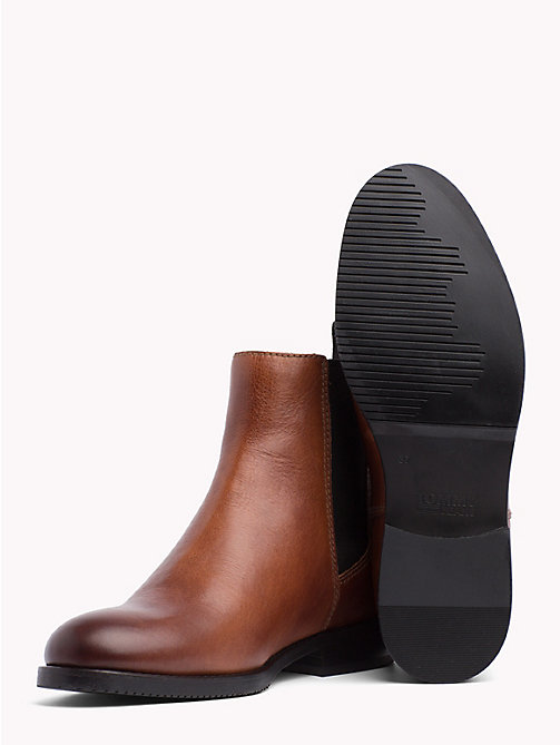 TOMMY JEANS Classic Leather Chelsea Boots - WINTER COGNAC - TOMMY JEANS Shoes & Accessories - detail image 1