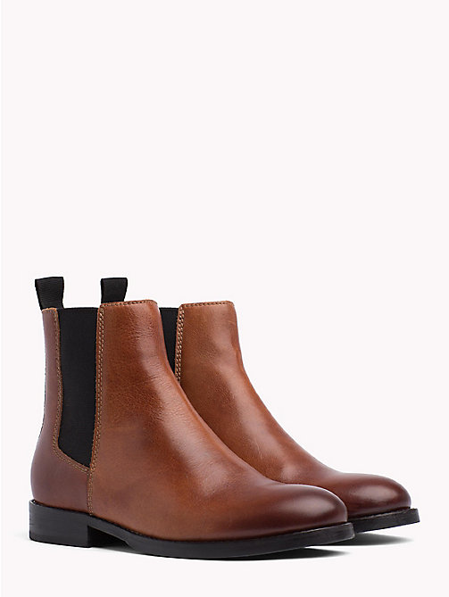 TOMMY JEANS Classic Leather Chelsea Boots - WINTER COGNAC - TOMMY JEANS Shoes & Accessories - main image