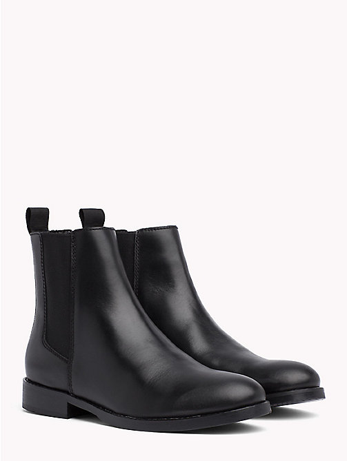 TOMMY JEANS Classic Leather Chelsea Boots - BLACK - TOMMY JEANS Shoes & Accessories - main image