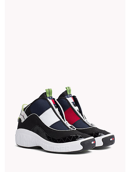 TOMMY JEANS Icon 90s sneaker - RED - WHITE - BLUE - BLACK - TOMMY JEANS TOMMY JEANS Capsule - main image