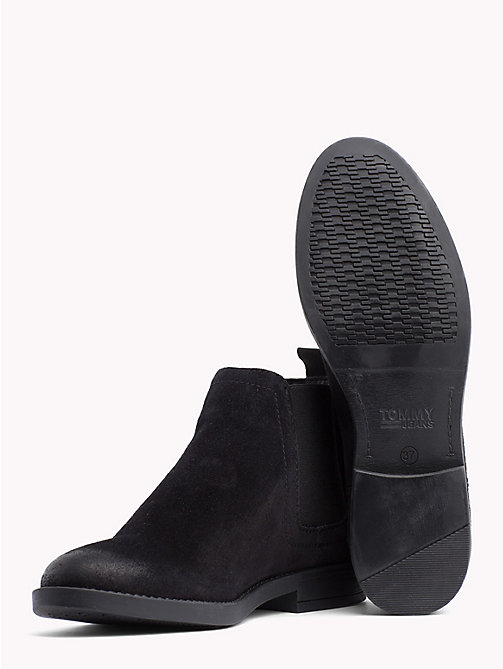 TOMMY JEANS Signature Tape Chelsea Boots - BLACK - TOMMY JEANS Shoes & Accessories - detail image 1