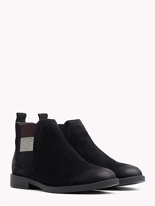 TOMMY JEANS Signature Tape Chelsea Boots - BLACK -  Shoes & Accessories - main image