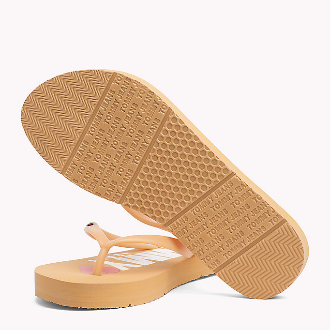 TOMMY JEANS Love Tommy Jeans Flip-Flops - DUSTY ROSE - TOMMY JEANS SHOES - detail image 1