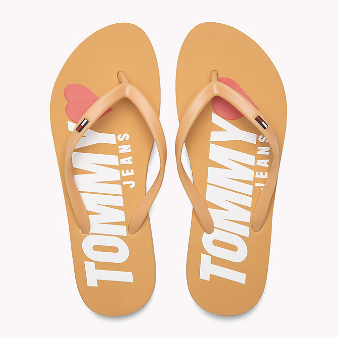 TOMMY JEANS Love Tommy Jeans Flip-Flops - DUSTY ROSE - TOMMY JEANS SHOES - detail image 3
