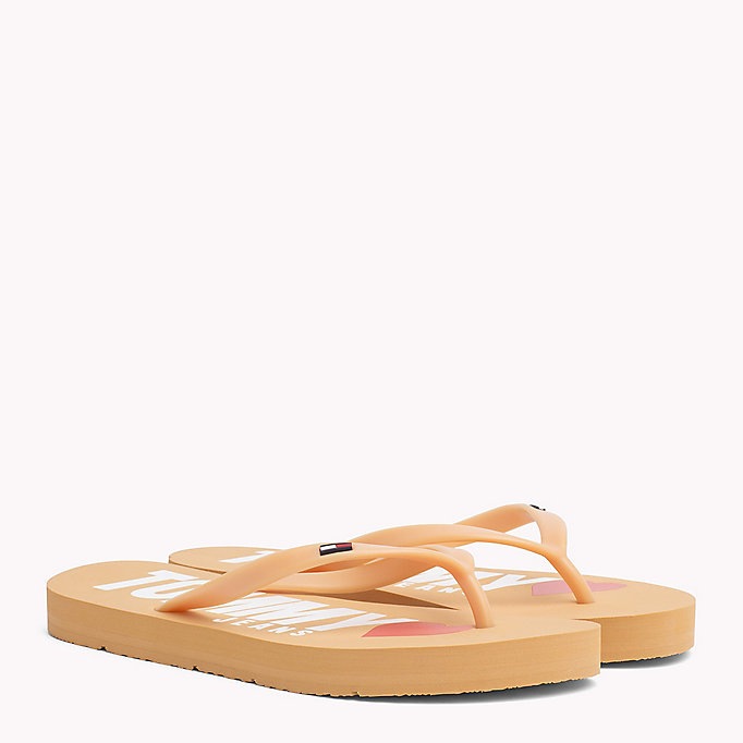 TOMMY JEANS Love Tommy Jeans Flip-Flops - DUSTY ROSE - TOMMY JEANS Shoes - main image