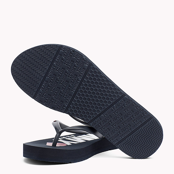 TOMMY JEANS Love Tommy Jeans Flip-Flops - WHITE - TOMMY JEANS SHOES - detail image 1