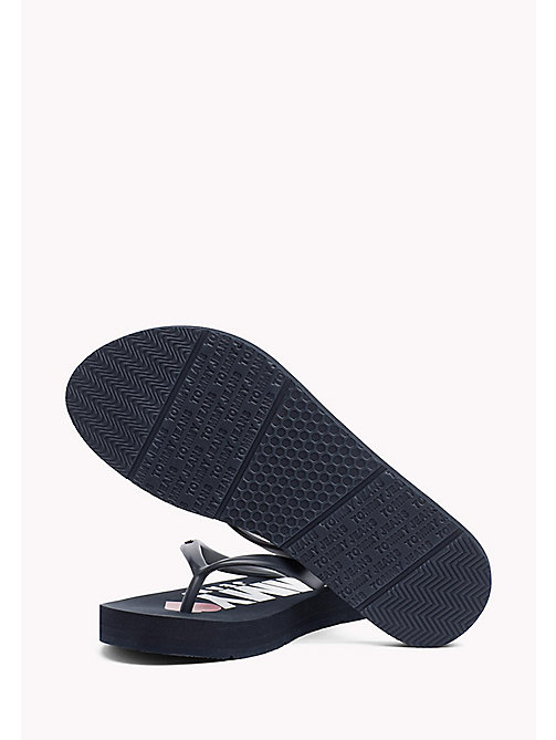 TOMMY JEANS Love Tommy Jeans Flip-Flops - TOMMY NAVY - TOMMY JEANS VACATION FOR HER - detail image 1