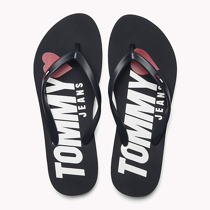 TOMMY JEANS Love Tommy Jeans Flip-Flops - WHITE - TOMMY JEANS Shoes - detail image 3