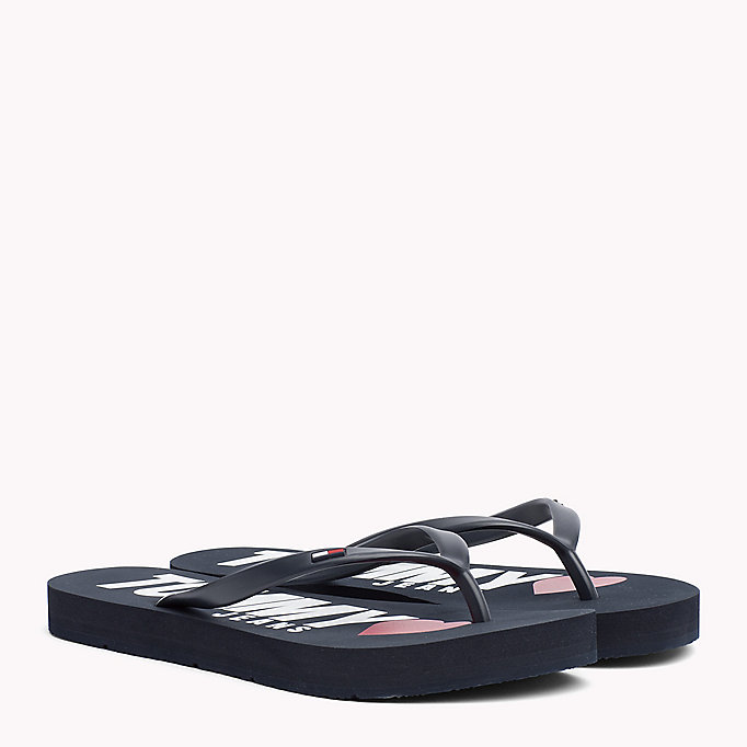 TOMMY JEANS Love Tommy Jeans Flip-Flops - WHITE - TOMMY JEANS Shoes - main image