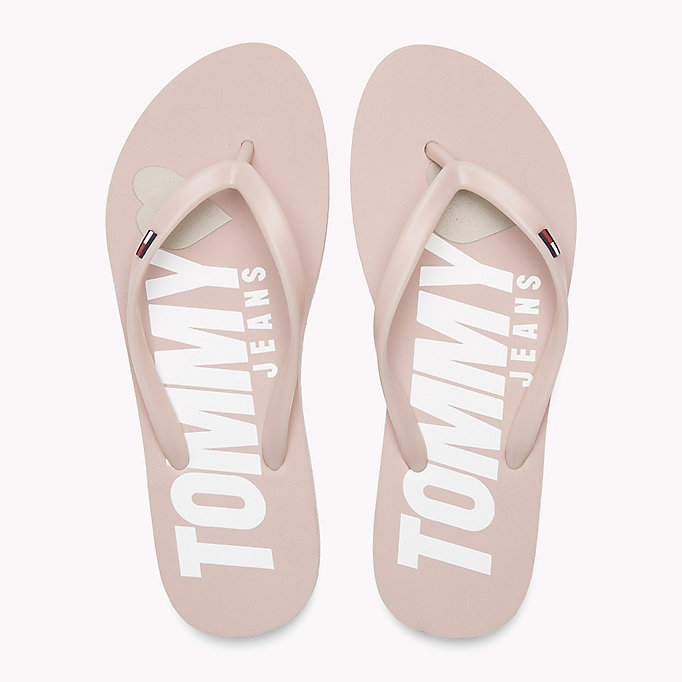 TOMMY JEANS Love Tommy Jeans Flip-Flops - TANGO RED - TOMMY JEANS Shoes - detail image 3