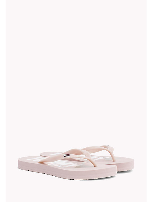 TOMMY JEANS Love Tommy Jeans Flip-Flops - DUSTY ROSE - TOMMY JEANS WOMEN - main image