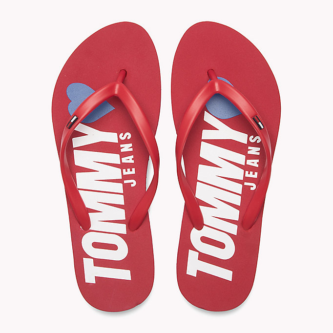 TOMMY JEANS Tongs Love Tommy Jeans - TOMMY NAVY - TOMMY JEANS CHAUSSURES - image détaillée 3