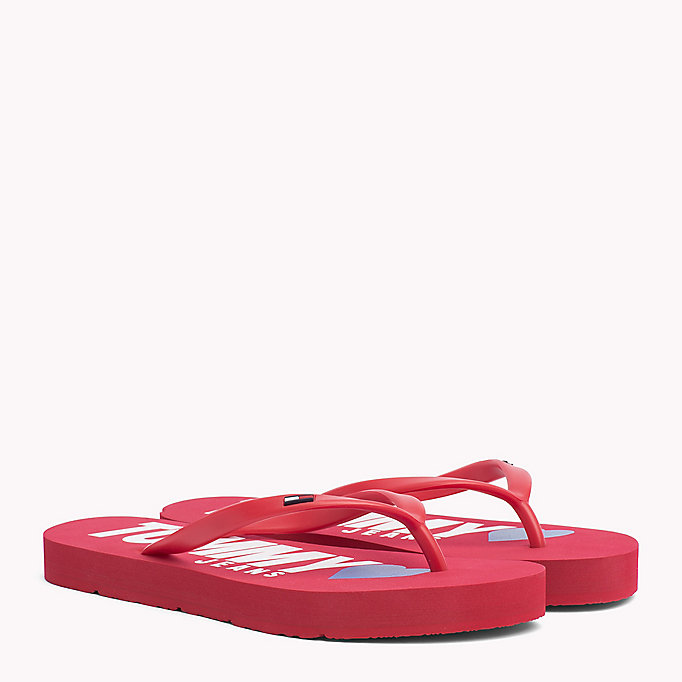 TOMMY JEANS Love Tommy Jeans Flip-Flops - TOMMY NAVY - TOMMY JEANS Women - main image