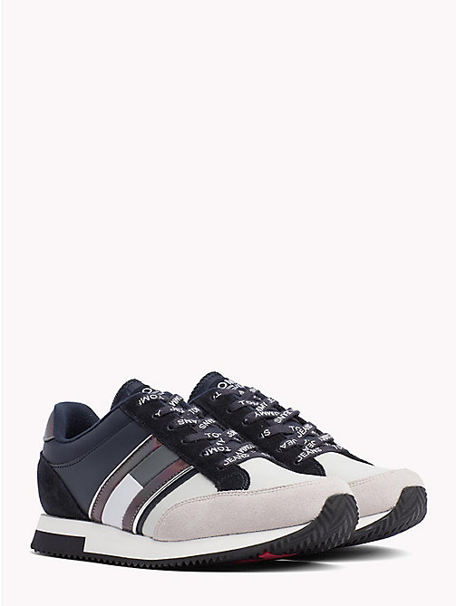 TOMMY JEANS Sneaker mit Metallic-Highlights - MIDNIGHT - ICE - TOMMY JEANS URLAUB FÜR SIE - main image