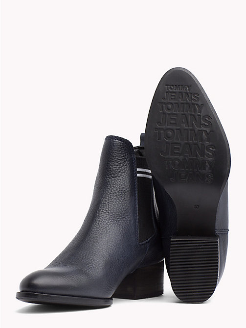 TOMMY JEANS Contrast Stripe Chelsea Boots - MIDNIGHT - TOMMY JEANS Shoes & Accessories - detail image 1